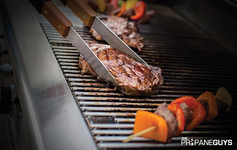 summer propane grilling