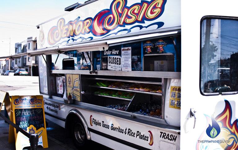 Propane Safe for Food Trucks